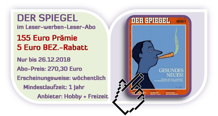 Top Der Spiegel Mit 155 Zalando Oder Otto Gutschein Als Werber